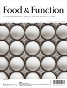 Food & Function Volume 4 Issue 2 Cover