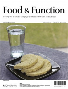 Food & Function issue 4 cover
