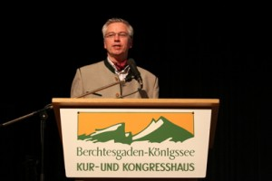 The conference chairman Prof Walter Leitner