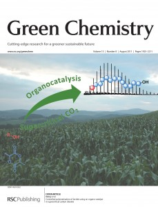 Green Chemistry Volume 13 Issue 8 Inside Front Cover