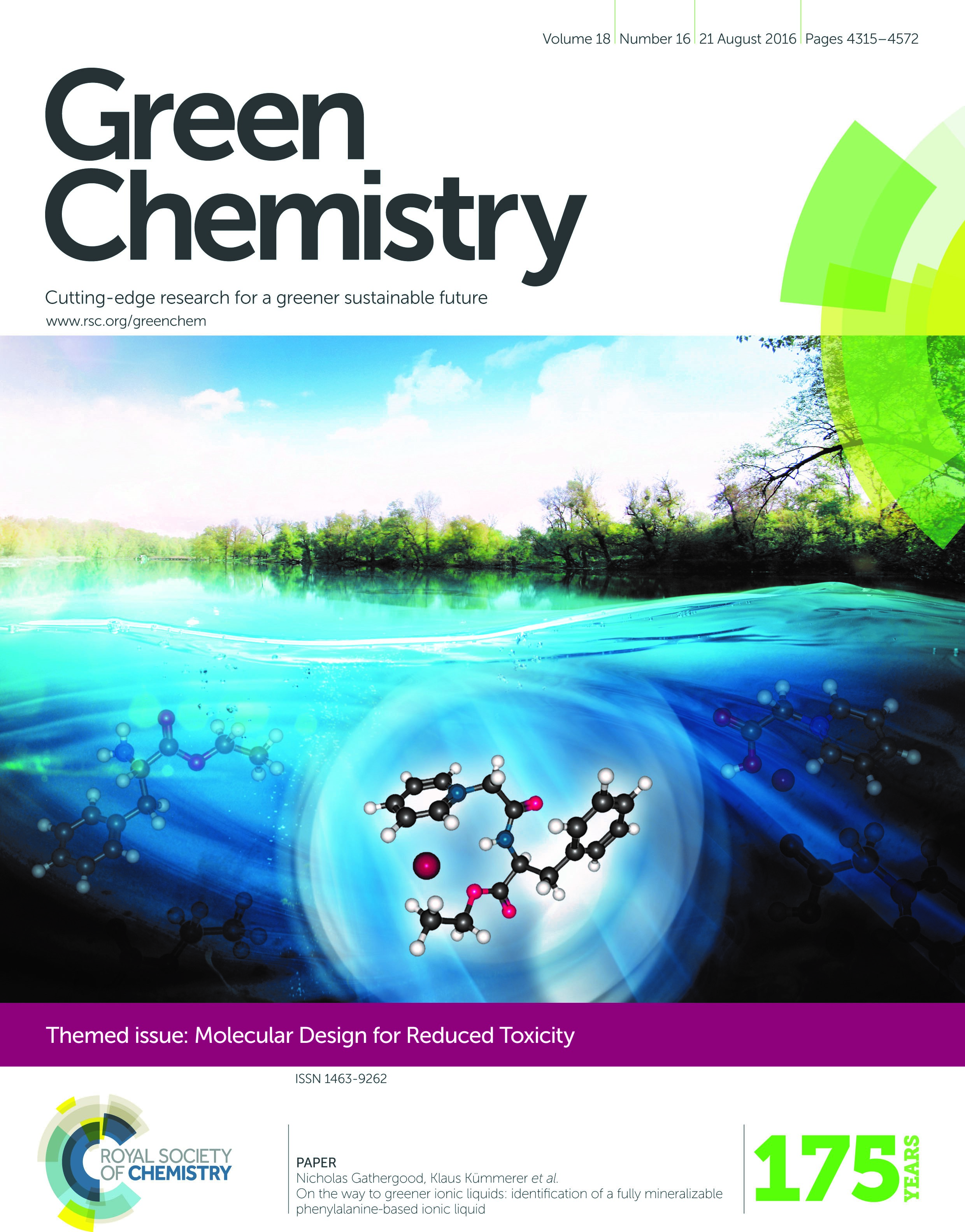 Themed Issue – Green Chemistry Blog