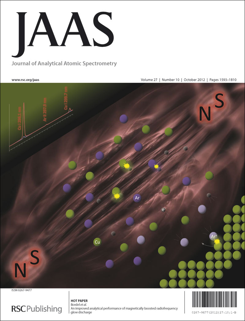 Front cover, JAAS, 2012, Issue 10