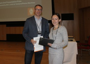 JAAS Oral Prize winner presentation