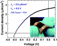 Aqueous soft matter based photovoltaic devices