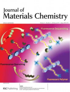 Issue 8 Journal of Materials Chemistry inside front cover