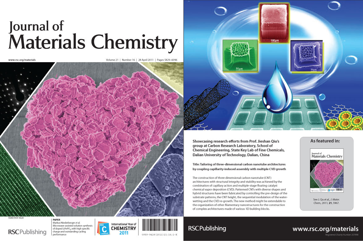 Journal Of Materials Chemistry Issue 16 Is Now Online!