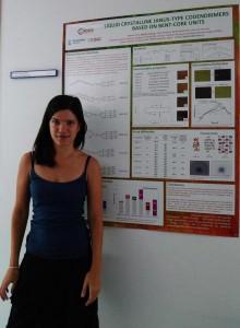 Nélida Gimeno her winning poster