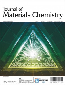 Journal of Materials Chemistry cover image