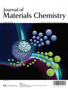 Journal of Materials Chemistry's Impact Factor rises to 5.97