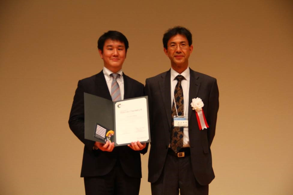poster prize winner at the 37th annual meeting of the japanese society for biomaterials