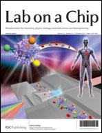 Lab on a Chip Cover Optofluidics