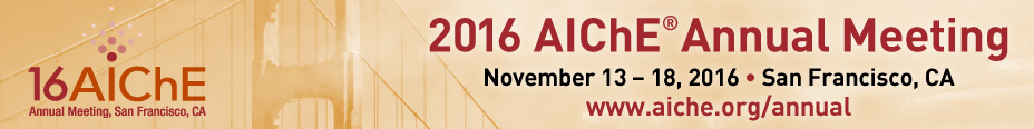 2016 AIChE Annual Meeting