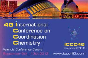40th Int'l Conference Coordination Chemistry logo