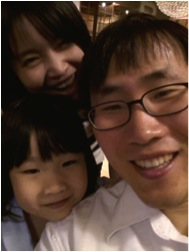 Dr Bong-Hyun Jun and family