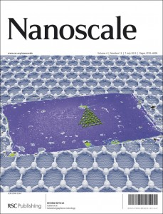 Nanoscale journal cover image