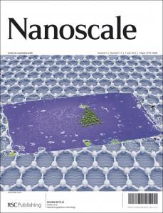 Nanoscale journal cover image