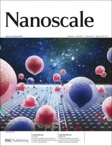 Nanoscale jouranl cover image