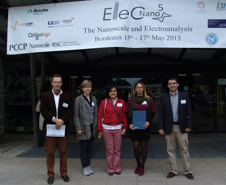 Poster Prize winners at ElecNano5