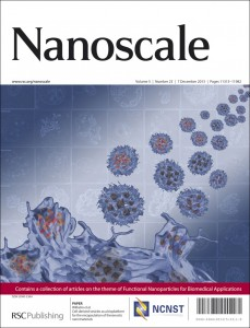 Nanoscale Issue 23 Outside front cover