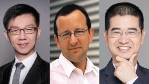 Associate Professor Wee-Jun Ong (Xiamen University, Malaysia), Professor Markus Antonietti (Max Planck Institute of Colloids and Interfaces, Germany) and Professor Nanfeng Zheng (Xiamen University, China)
