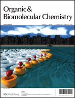 Front cover of Organic & Biomolecular Chemistry issue 7 2013