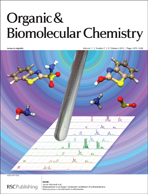 Inside cover of Organic & Biomolecular Chemistry issue 7 2013