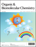 OBC issue 8 front cover with clouds, rainbows & biotinylated MRI contrast agents