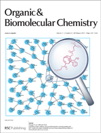 OBC inside cover issue 8: E pluribus unum: isolation, structure determination, network analysis and DFT studies of a single metastable structure from a shapeshifting mixture of 852 bullvalene structural isomers