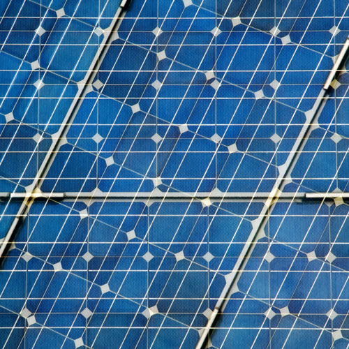 Solar panels © Shutterstock