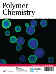 polymer bioconjugates themed issue front cover