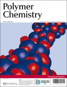 Polymer Chemistry issue 2 front cover