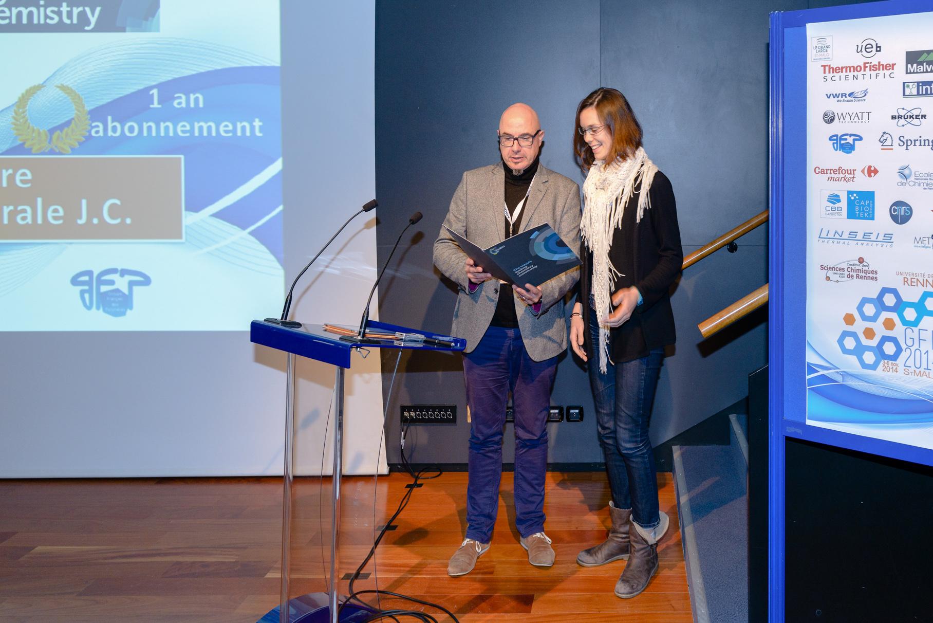 GFP 2014 RSC Polymer Chemistry Oral Presentation Prize Winner