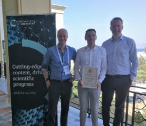 Neil Hammond, Frederik Wurm and Filip Du Prez at the EPF 2019