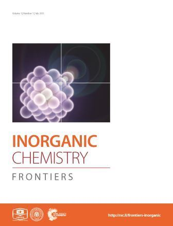 Inorganic chemistry research articles