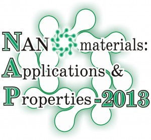 Nanomaterials: Applications & Properties 2013 logo