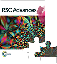 RSC Advances Issue in Progress image