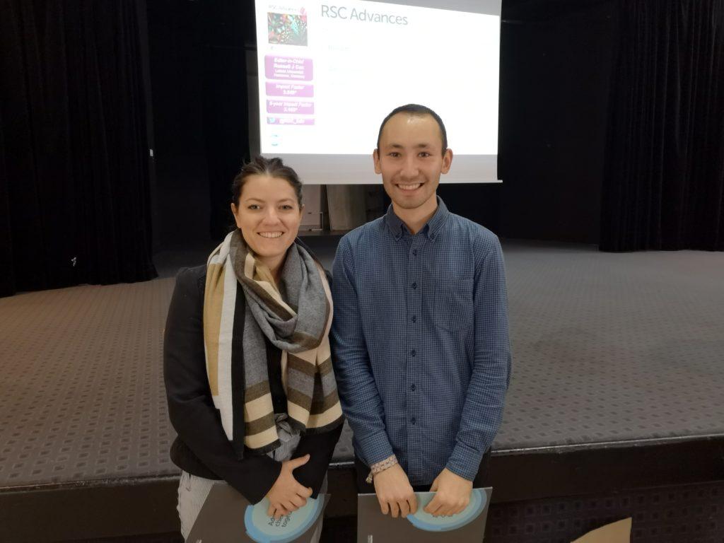 RSC Advances poster prize winners at IMBG 2019