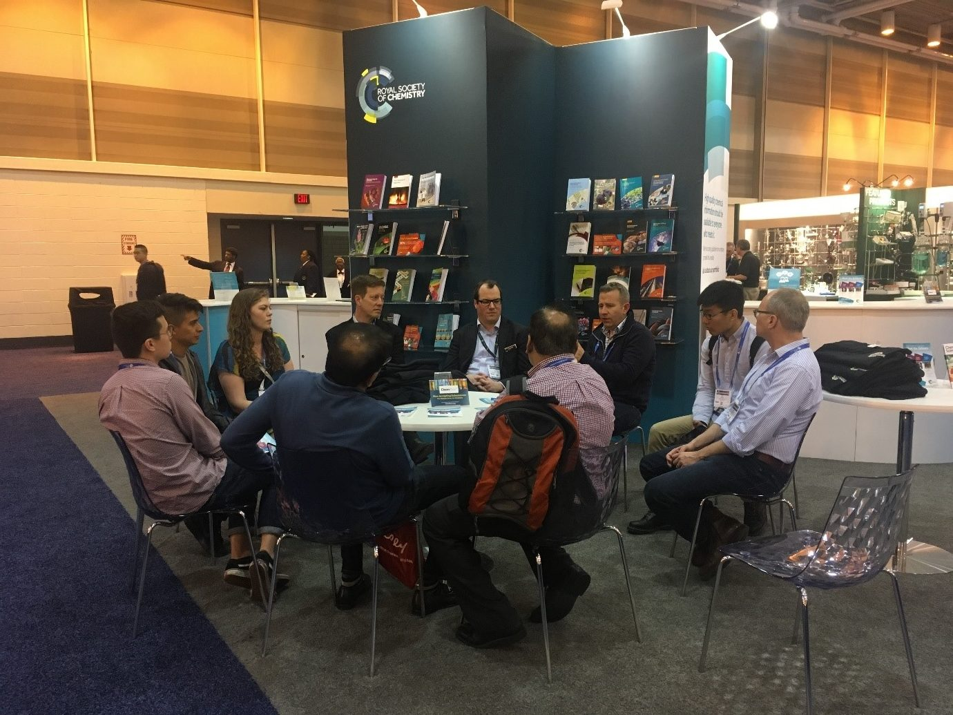 RSC, ACS, Environmental Science: Nano, Environmental Science: Processes & Impacts, Environmental Science: Water Research & Technology, ESN, ESW, ESPI, Meet the Editor, Booth, Sam Keltie, New Orleans