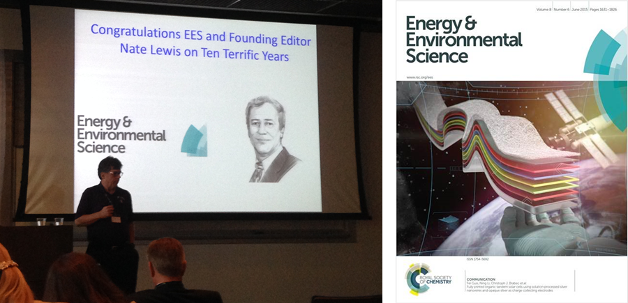 Joseph Hupp, EES Symposium, Nathan Lewis, EES, EES: New Directions in Energy Research