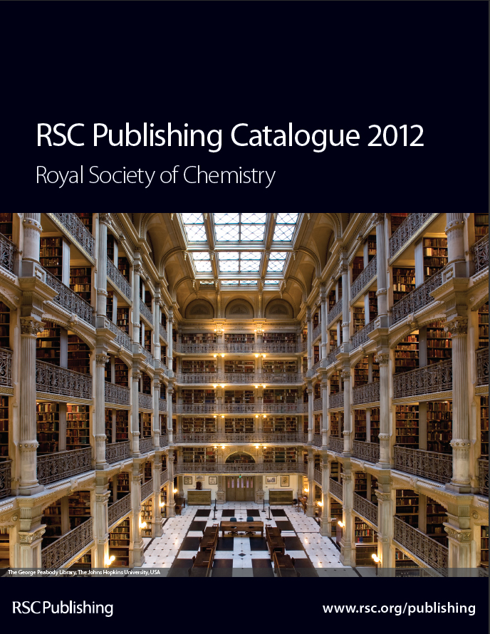 RSC Publishing Catalogue 2012