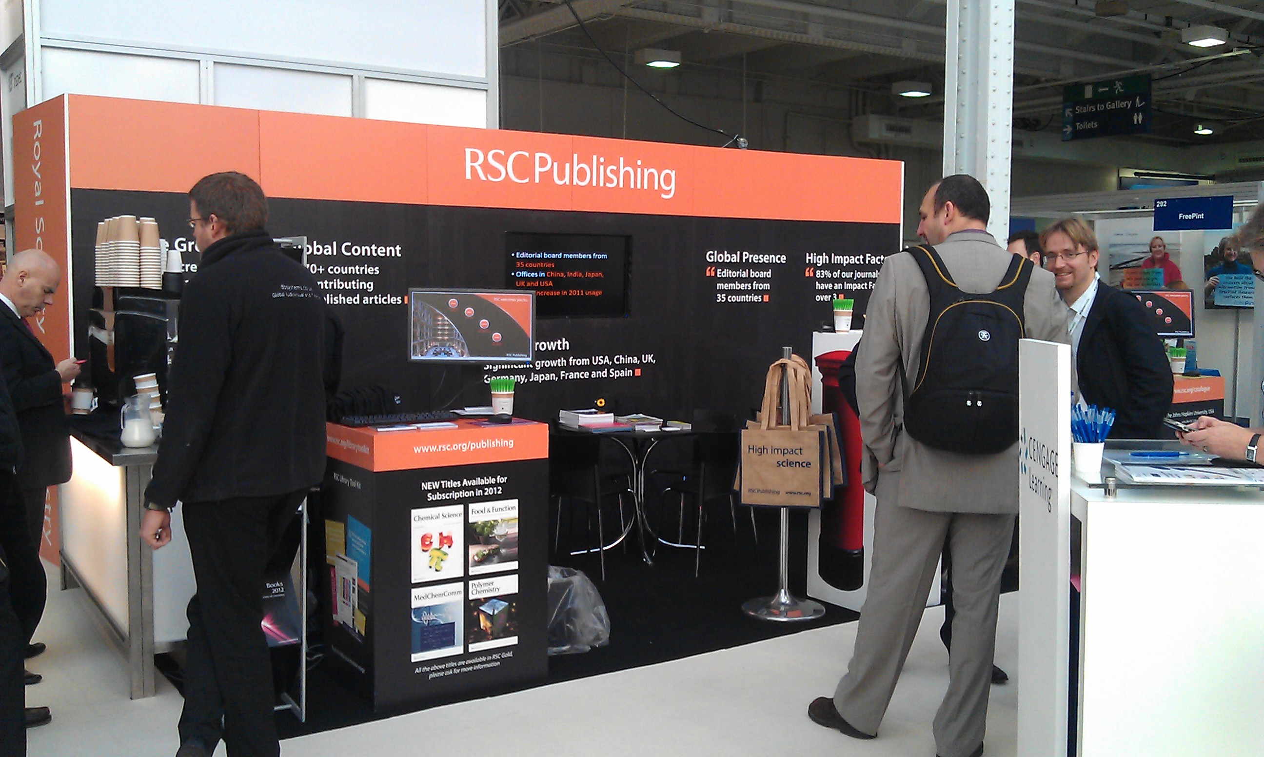 Online Information 2011 RSC Publishing Stand 270