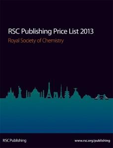 RSC Price List 2013