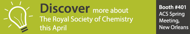 Discover more about The Royal Society of Chemistry this April