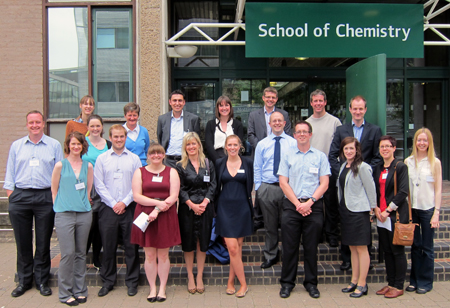 Speakers and organisers at 'Chemistry Careers - what's next?'