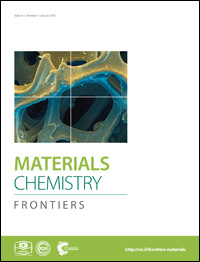 Journal cover for Materials Chemistry Frontiers