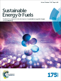 Sustainable Energy and Fuels cover image