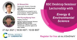 RSC Desktop Seminar Lectureship with EES