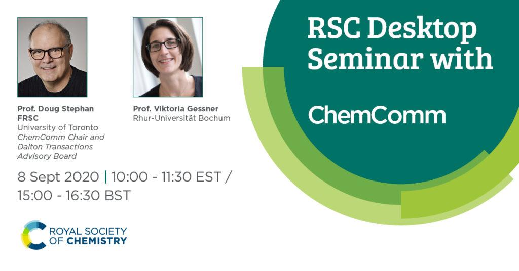 RSC Desktop Seminar 8Sept