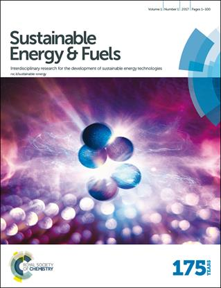 Sustainable Energy & Fuels cover image