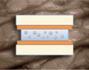 Sticky hydrogels